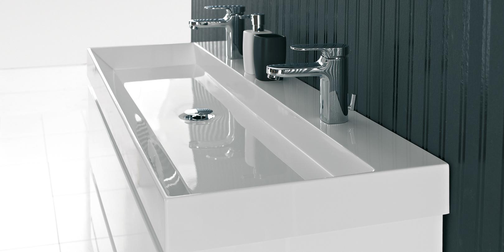 Badkamerkast onder wastafel - Badkamer met wastafel ...